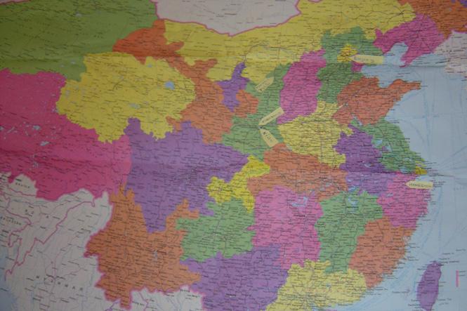China - kaart