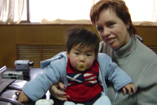 Adoptie-reis China, 21 februari 2005