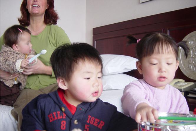 Adoptie-reis China, 25 februari 2005