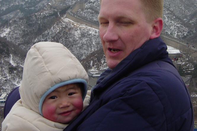 Adoptie-reis China, 28 februari 2005
