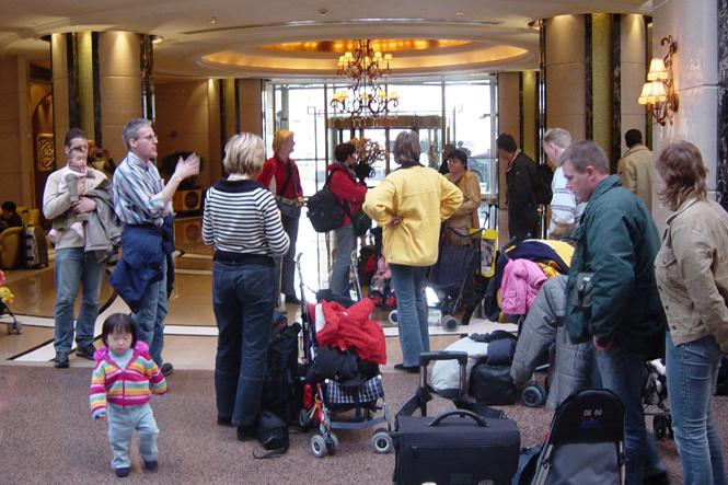Adoptie-reis China, 4 maart 2005